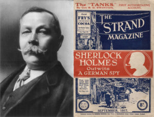 Copyright Bites. Sir Arthur Conan Doyle. The Strand Magazine (cover), vol. 65, no. 321, September 1917