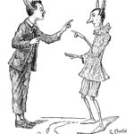 Copyright Bites. Illustration by Carlo Chiostri of Carlo Collodi's Pinocchio. This work is in the public domain. Source: Wikimedia Commons