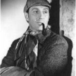 Copyright Bites. Basil Rathbone. Photo from the film The Hound of the Baskervilles (1939), directed by Sidney Lanfield and produced by Twentieth Century Fox Film Corporation. This work is in copyright. Source: http://www.basilrathbone.net/