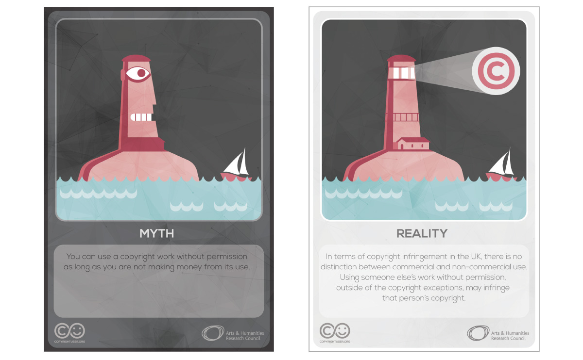 Myths Vs Reality cards - set 1