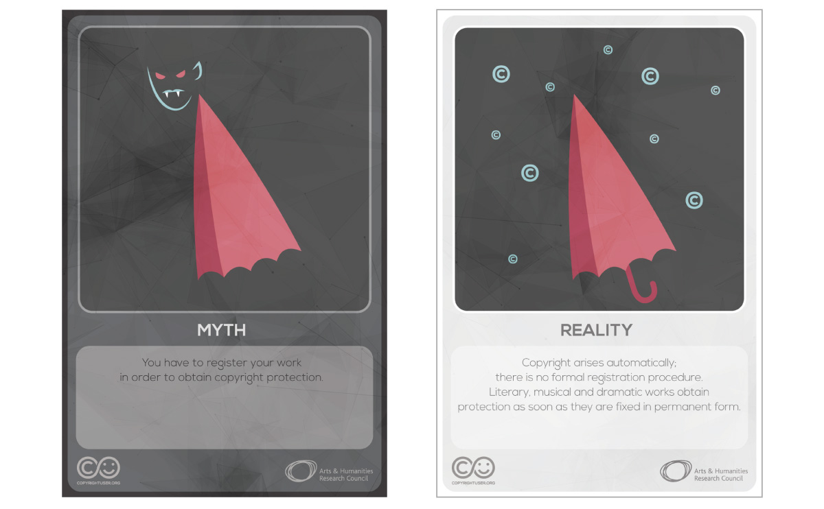 Myths Vs Reality cards - set 2