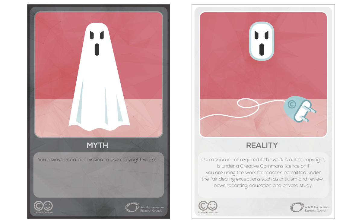Myths Vs Reality cards - set 4