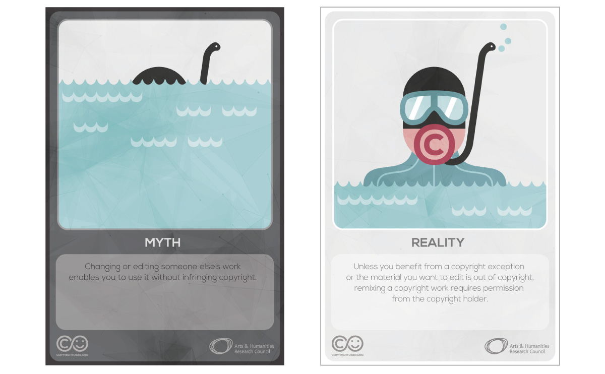 Myths Vs Reality cards - set 5