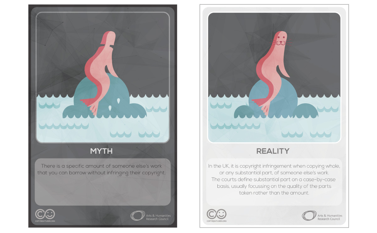 Myths Vs Reality cards - set 6