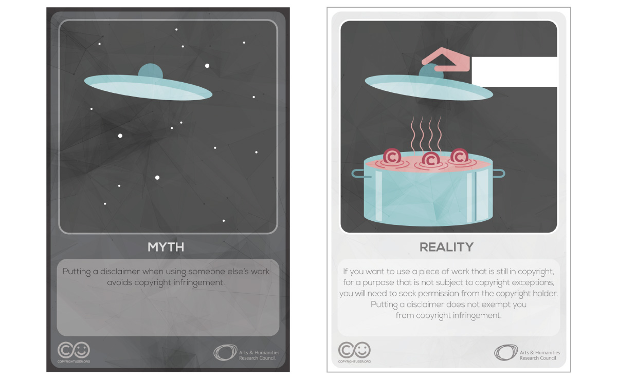 Myths Vs Reality cards - set 7